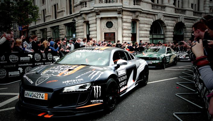 Cars line races gumball 3000 luxury sport car wallpaper