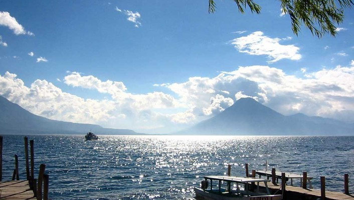 Nature guatemala atitlan wallpaper