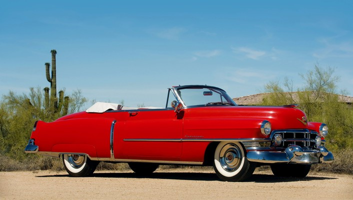 1952 cadillac sixty two convertible wallpaper