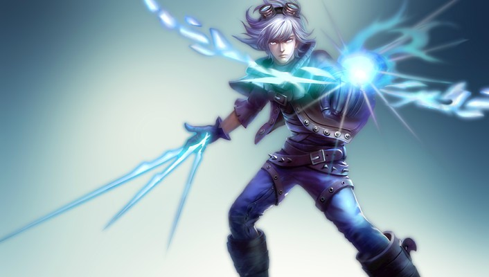 League of legends arrows ezreal bow (weapon) yoshairo wallpaper