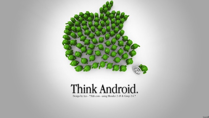 Android funny wallpaper