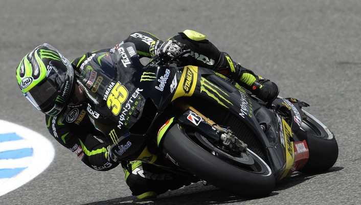 Moto gp monster yamaha tech 3 cal crutchlow wallpaper