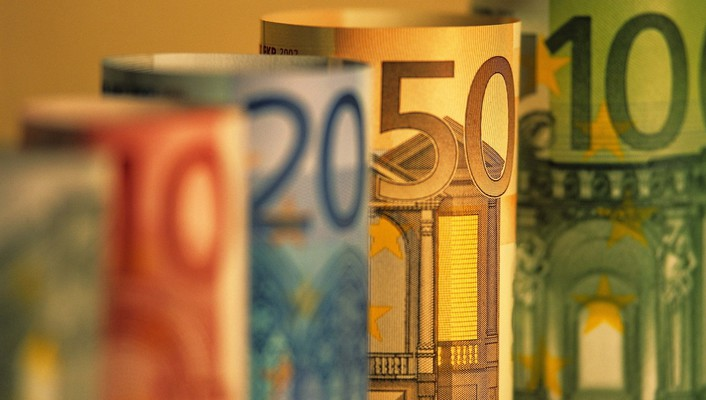 Banknote cash euro euros money wallpaper