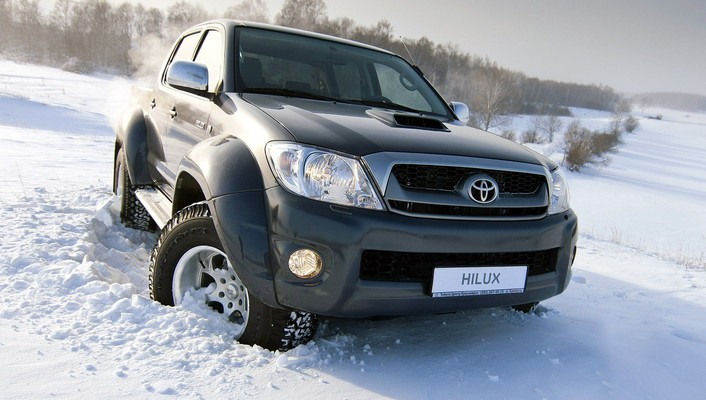 New toyota hilux wallpaper