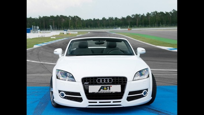 Audi tt abt roadster 2007 wallpaper