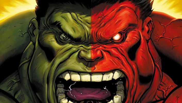 Green hulk (comic character) comics marvel red wallpaper