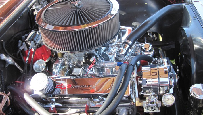 1974 chevrolet engine modified wallpaper