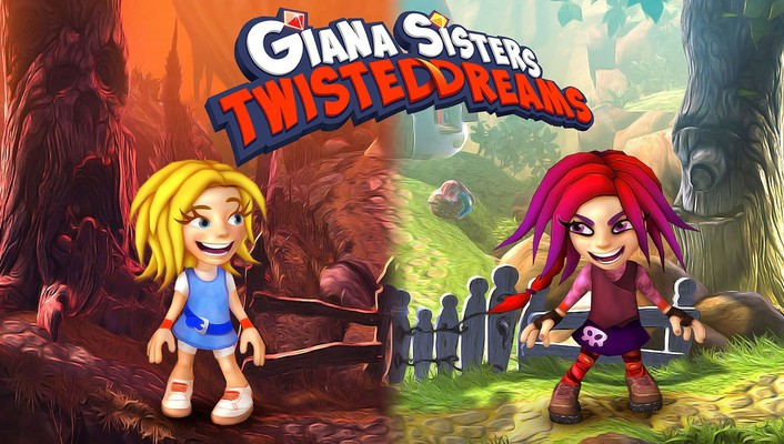 Video games dreams twisted giana sisters: wallpaper