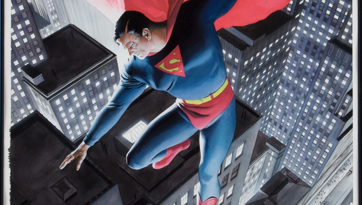 Alex ross superman wallpaper