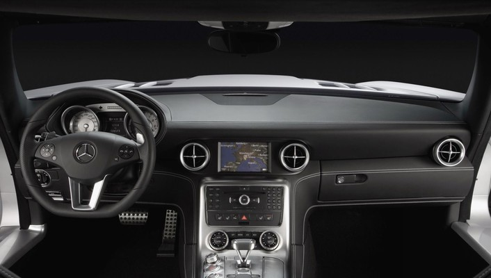 Car interiors mercedes-benz sls amg mercedes benz wallpaper