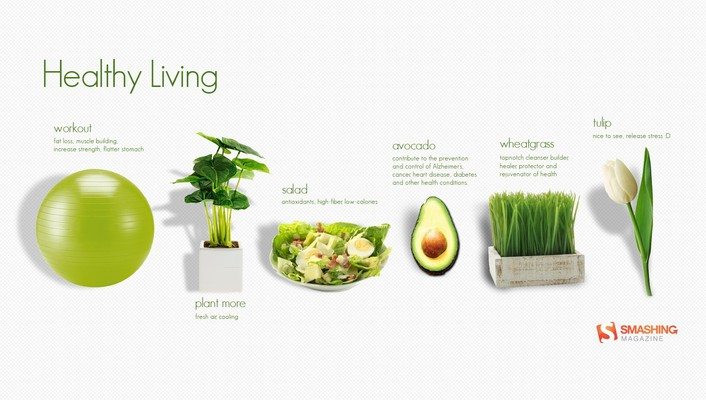 Salad simple background motivation smashing magazine lifestyle wallpaper