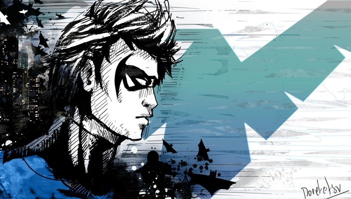 Dc comics nightwing wallpaper