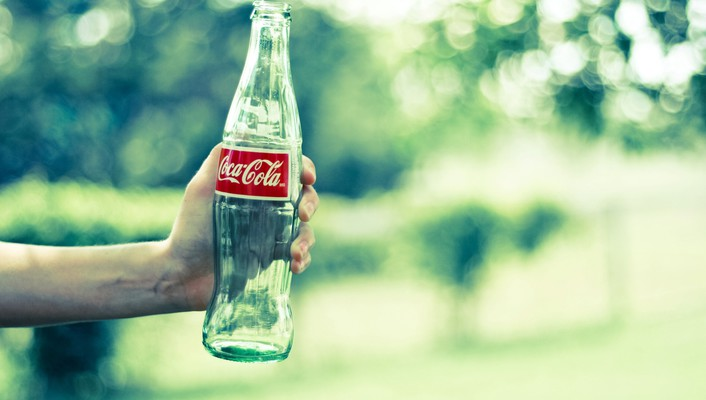 Cocacola bottles hands wallpaper