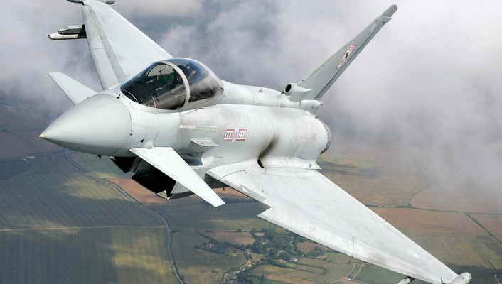 Eurofighter typhoon aircraft fighter jets military wallpaper