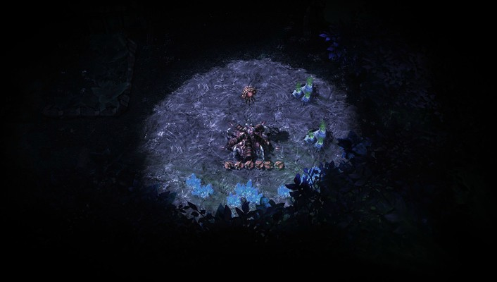 Starcraft ii zerg video games wallpaper