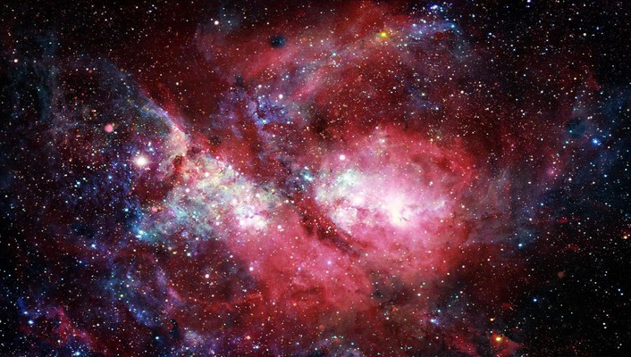 Outer space stars dark wallpaper