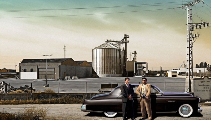 Automobiles games mafia mobsters wallpaper