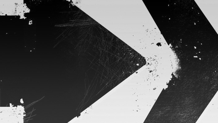 Abstract arrows black directions paint wallpaper