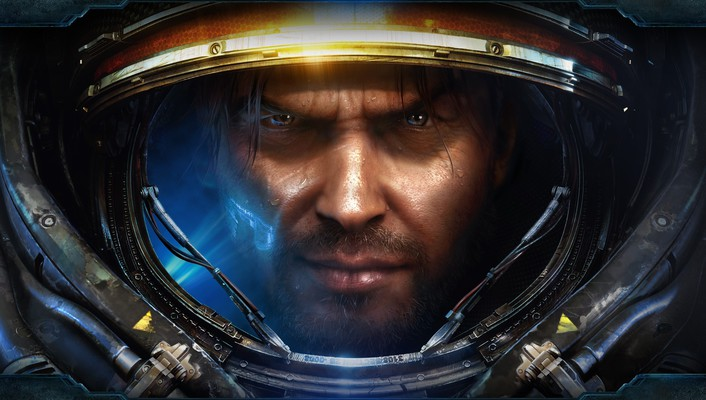 Starcraft terran artwork ii jim raynor wallpaper