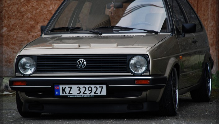 Golf volkswagen ii mk2 nikon d80 wallpaper