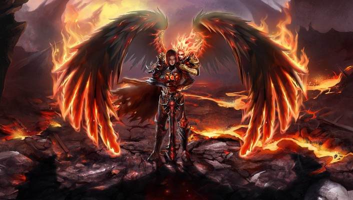 Might and magic: heroes vi fire wallpaper