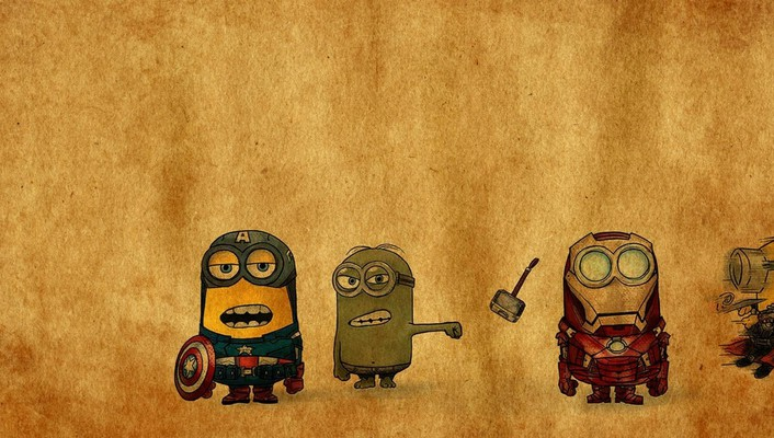 Minion avenger wallpaper