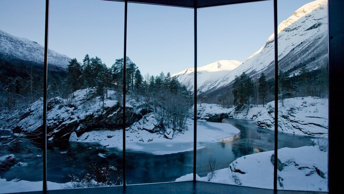 Window, norway, wallpaper