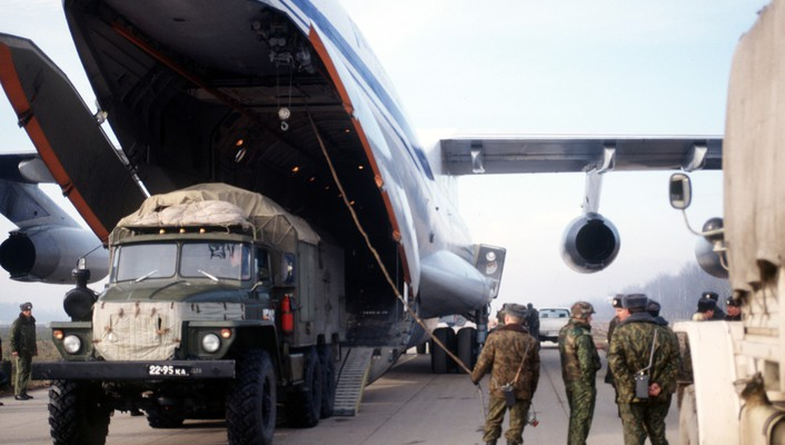 Aircraft vehicles il-76 candid russian wallpaper