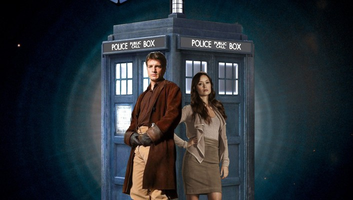 Doctor who firefly nathan fillion serenity summer glau wallpaper