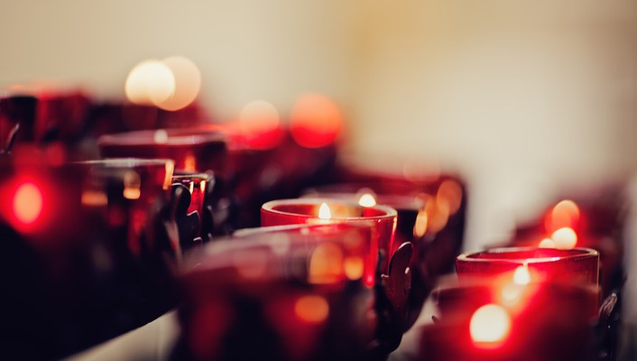 Bokeh candlelight candles depth of field fire wallpaper