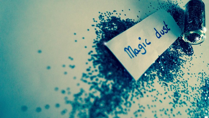Magic dust wallpaper