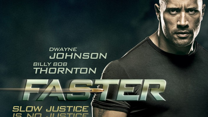 Movies dwayne johnson faster wallpaper