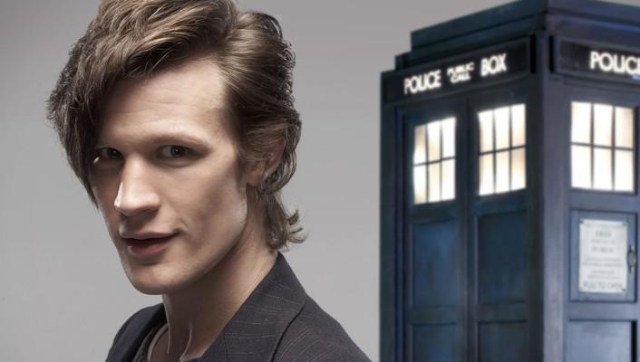 Tardis matt smith eleventh doctor who wallpaper