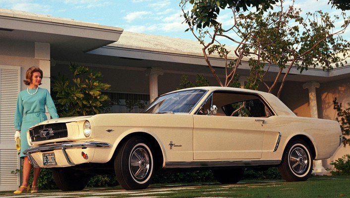1964 ford mustang cars coupe vehicles wallpaper
