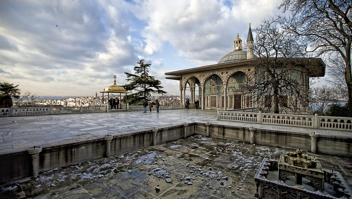 Topkapi palace cities cityscapes wallpaper