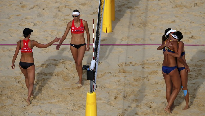 Austria volleyball chen beach doris schwaiger stefanie wallpaper