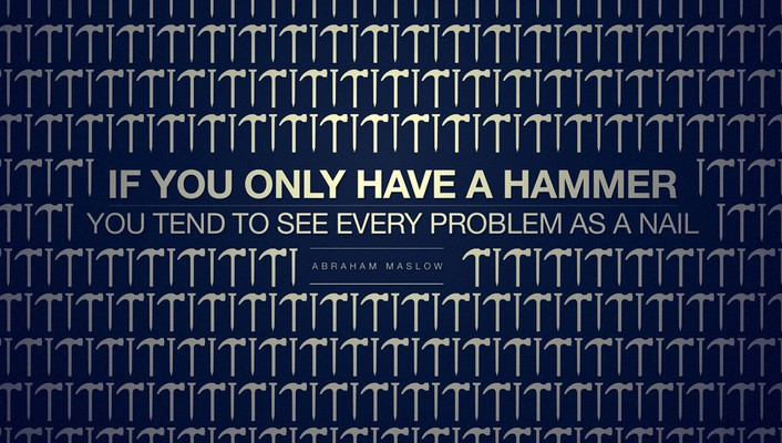 Linux quotes typography hammer operating systems nails wallpaper