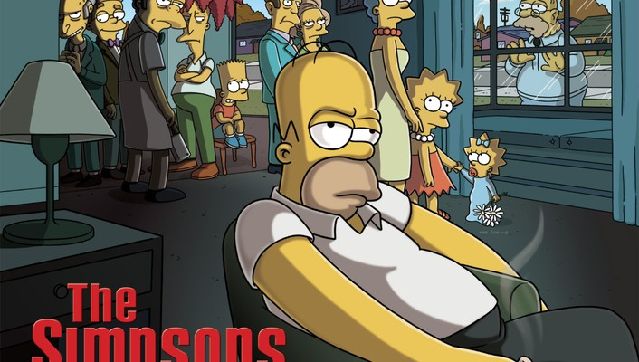 Cartoons funny the simpsons carton sopranos wallpaper