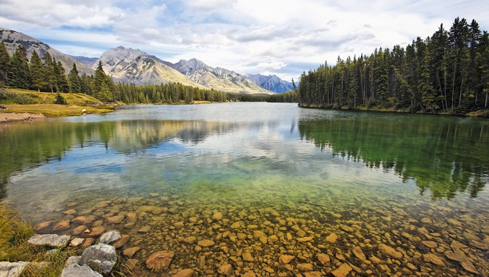 Alberta banff national park landscapes wallpaper