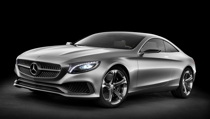 Mercedes benz concept s class coupe wallpaper