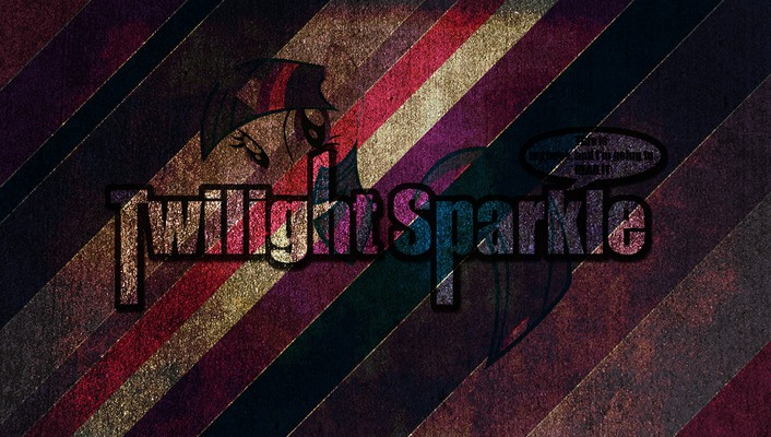 Grunge quotes my little pony twilight sparkle wallpaper