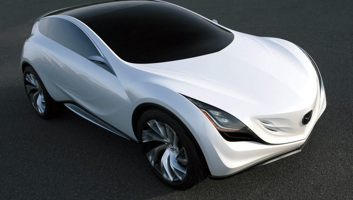 Cars mazda concept art wallpaper