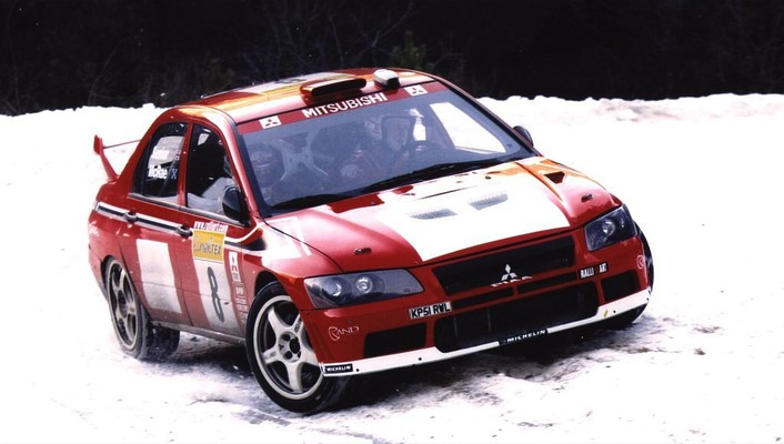 Mitsubishi lancer evolution wrc wallpaper