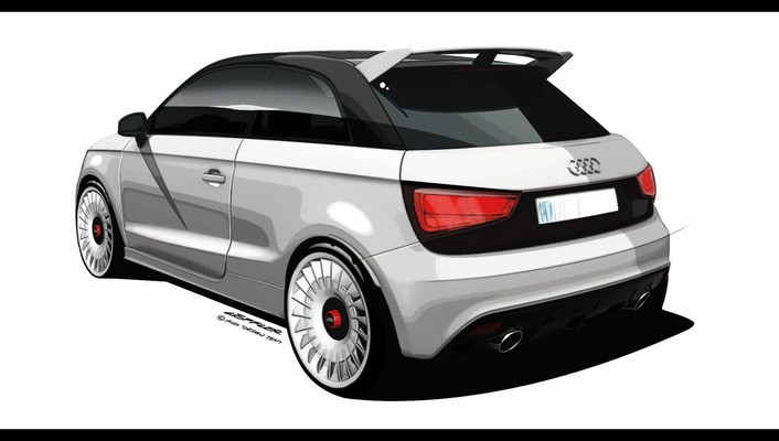 Audi a1 quattro design sketches vehicles wallpaper