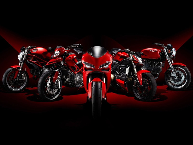 Ducati Black Background Motorbikes Vehicles Wallpaper Allwallpaper