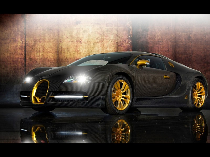 bugatti veyron mansory carbon fiber cars gold wallpaper. Black Bedroom Furniture Sets. Home Design Ideas